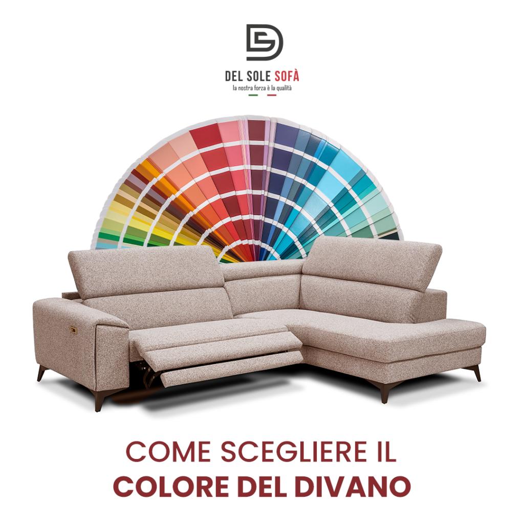 Il colore per il divano